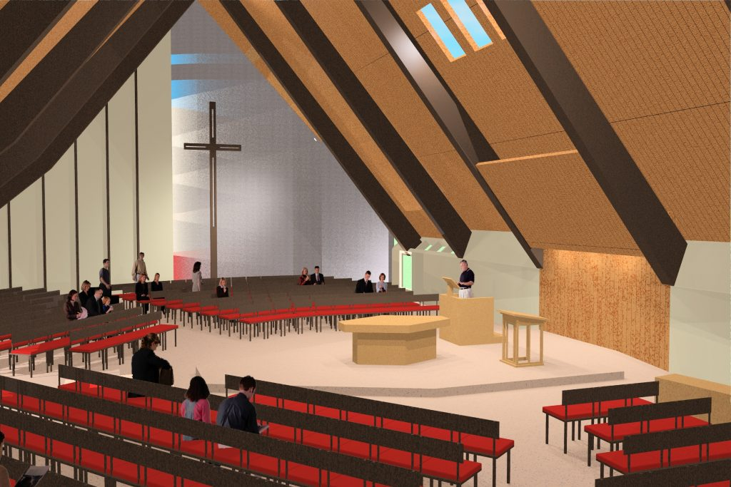 sanctuary renovation foresight architects methodist