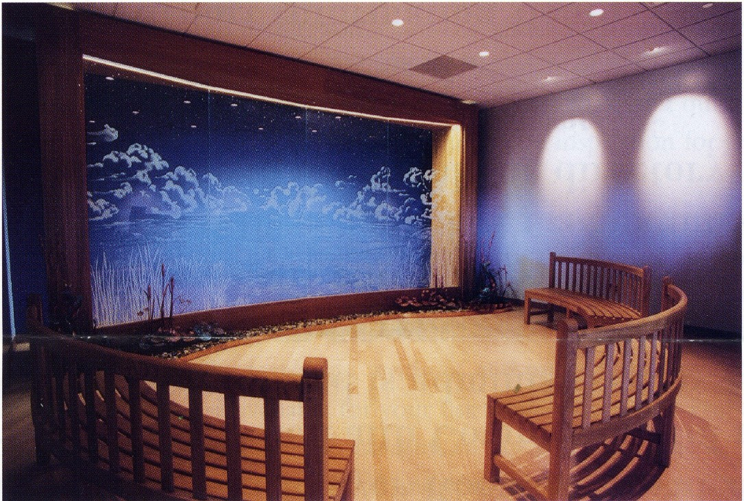 James Hundt, Architect helped design the new Meditation Room at the Albany International Airport.
