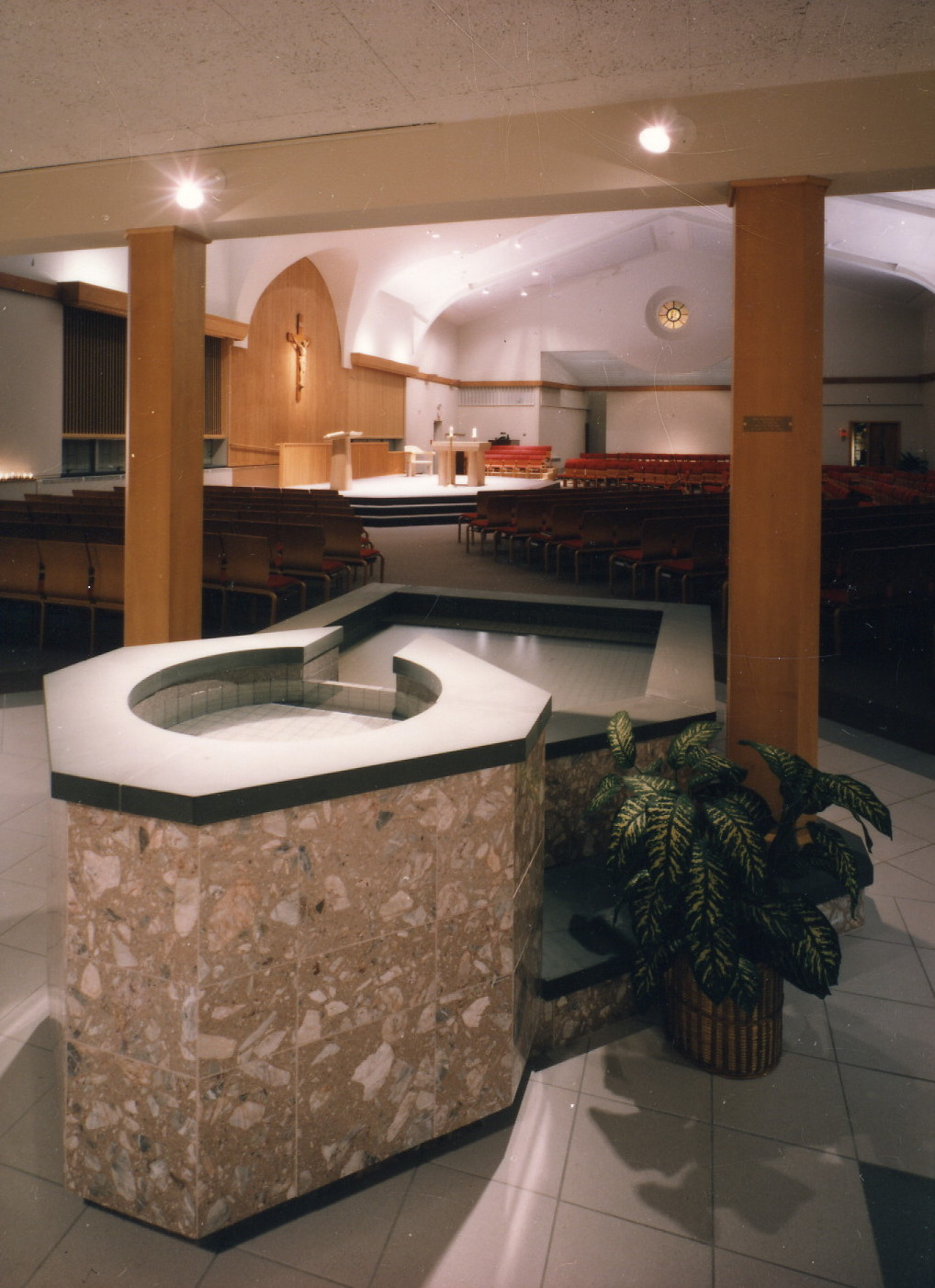Our Lady of Mercy Font