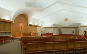 Our Lady of Mercy Church after the 1995 renovation