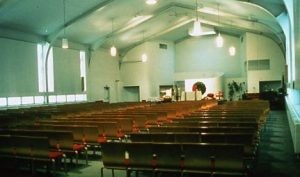 Our Lady of Mercy Church after the 1970's renovation