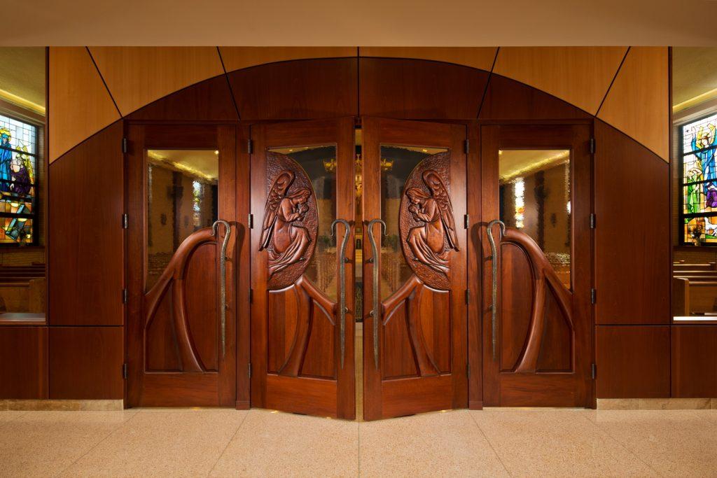 foresight, doors, renovation, worship space