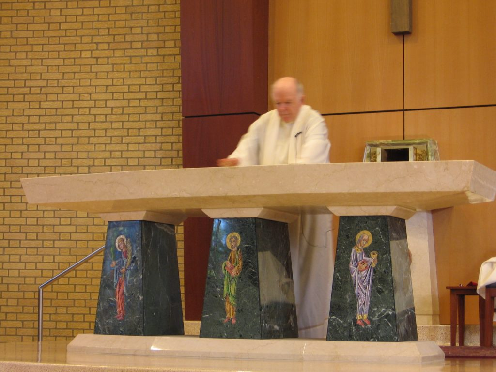 altar, renovation, worship space, foresight