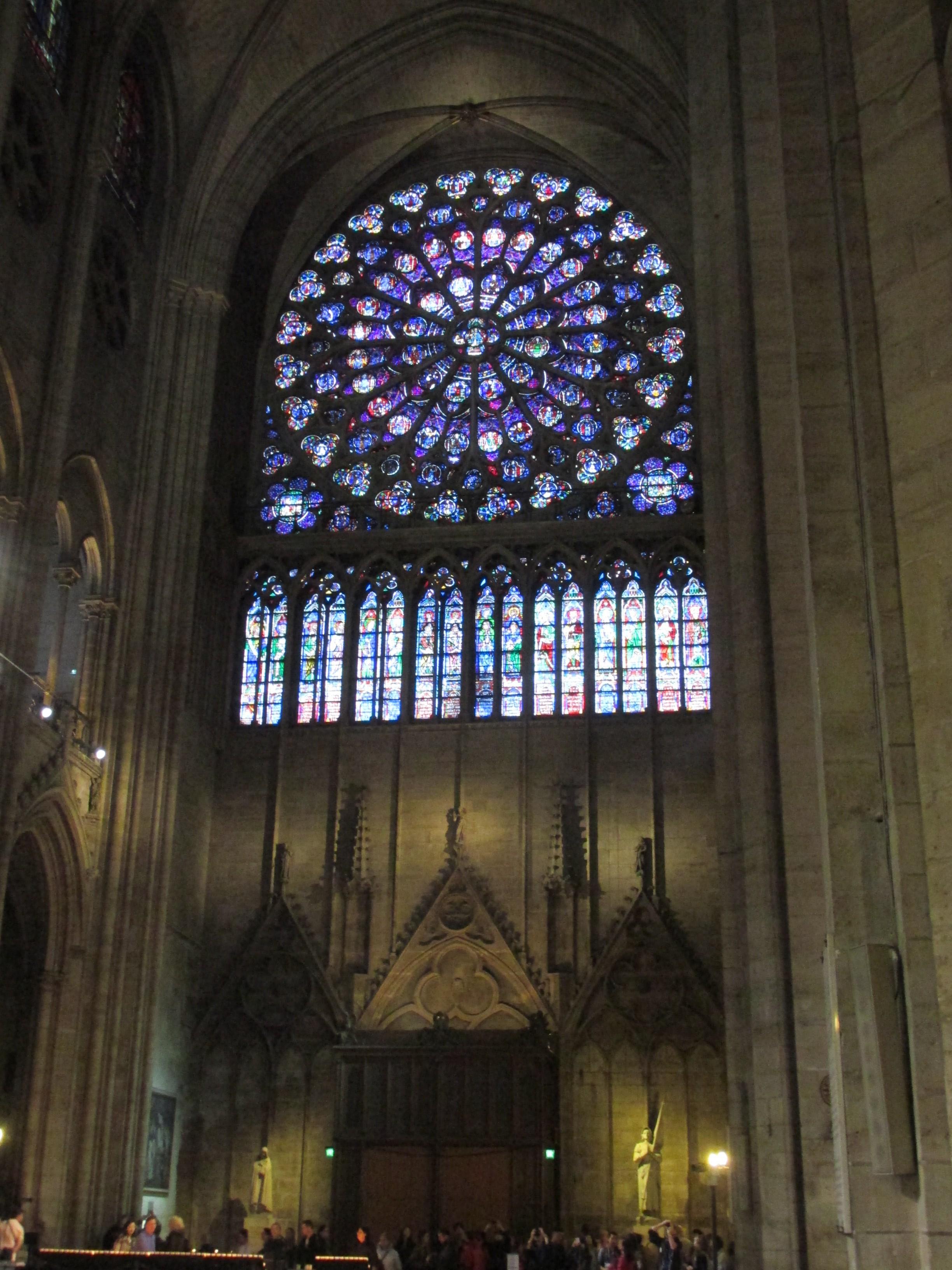 Transept, Notre-Dame de Paris