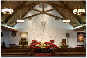 St. Joseph Parish Existing Worship Space Interior