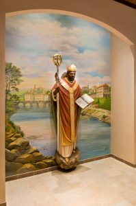 statue custom church foresight
