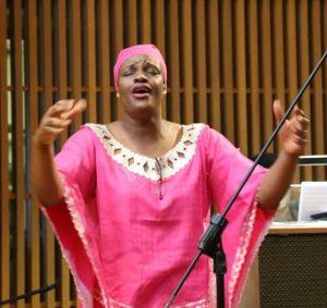 Choir director at Black Catholic Apostolate