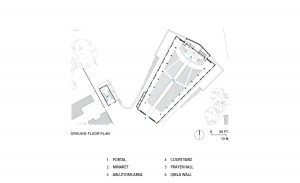 Floor Plan of Kericho's Sacred Heart Cathedral-click to enlarge