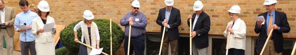 Delmar church breaks ground for elevator addition