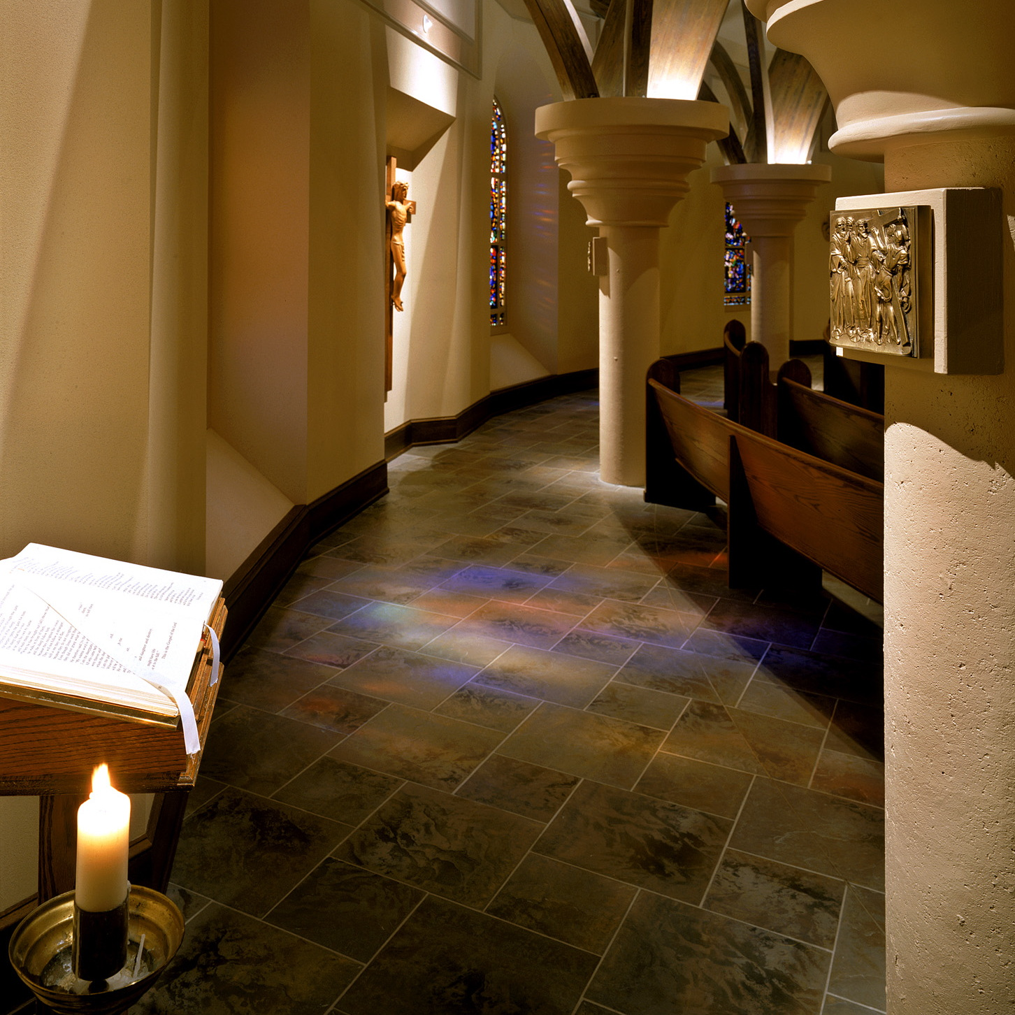 Church renovations, Catholic churches, new churches, chapels, worship spaces, liturgical design