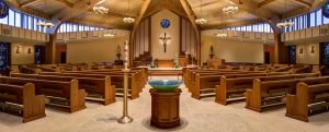 New worship space at St. Joseph Church by Foresight Architects