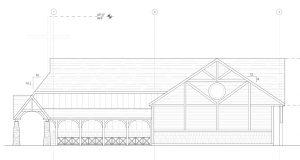 Adirondack style church designed by Foresight Architects
