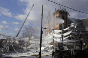 fire, church, restoration, Foresight, James Hundt