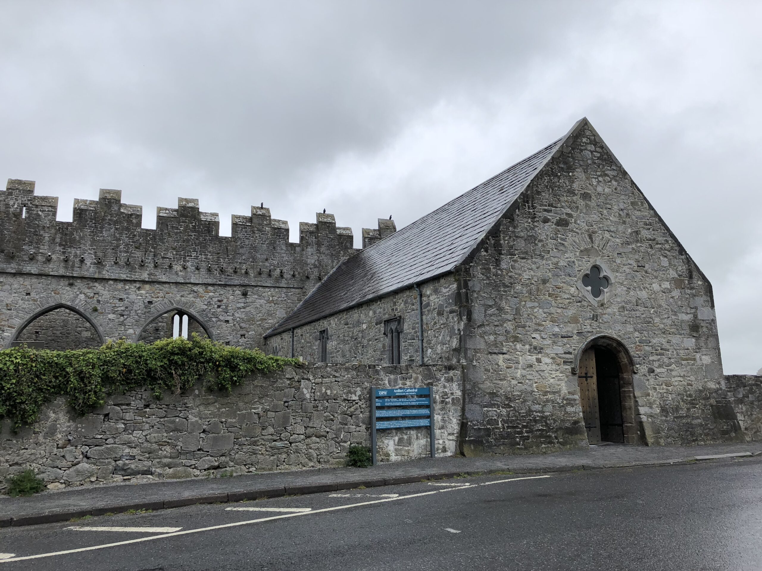 Street view of Ardfert Cathedral