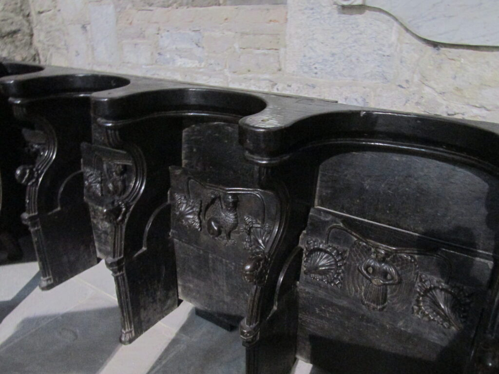 Misericords at St. Mary the Virgin Cathedral