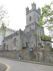 Exterior view of St. Mary the Virgin Cathedral in Limerick, Ireland