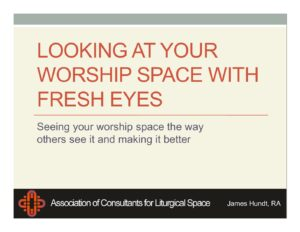 Seeing Your Church Through New Eyes