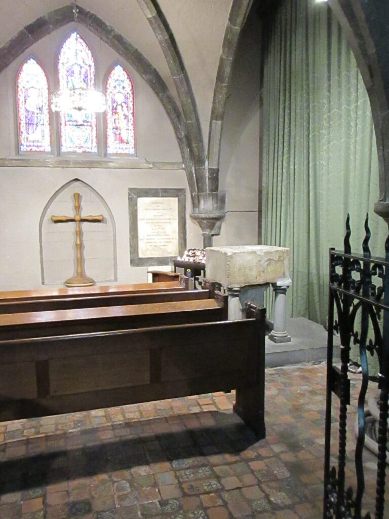 Baptistry at St. Patrick's Cathedral, Dublin