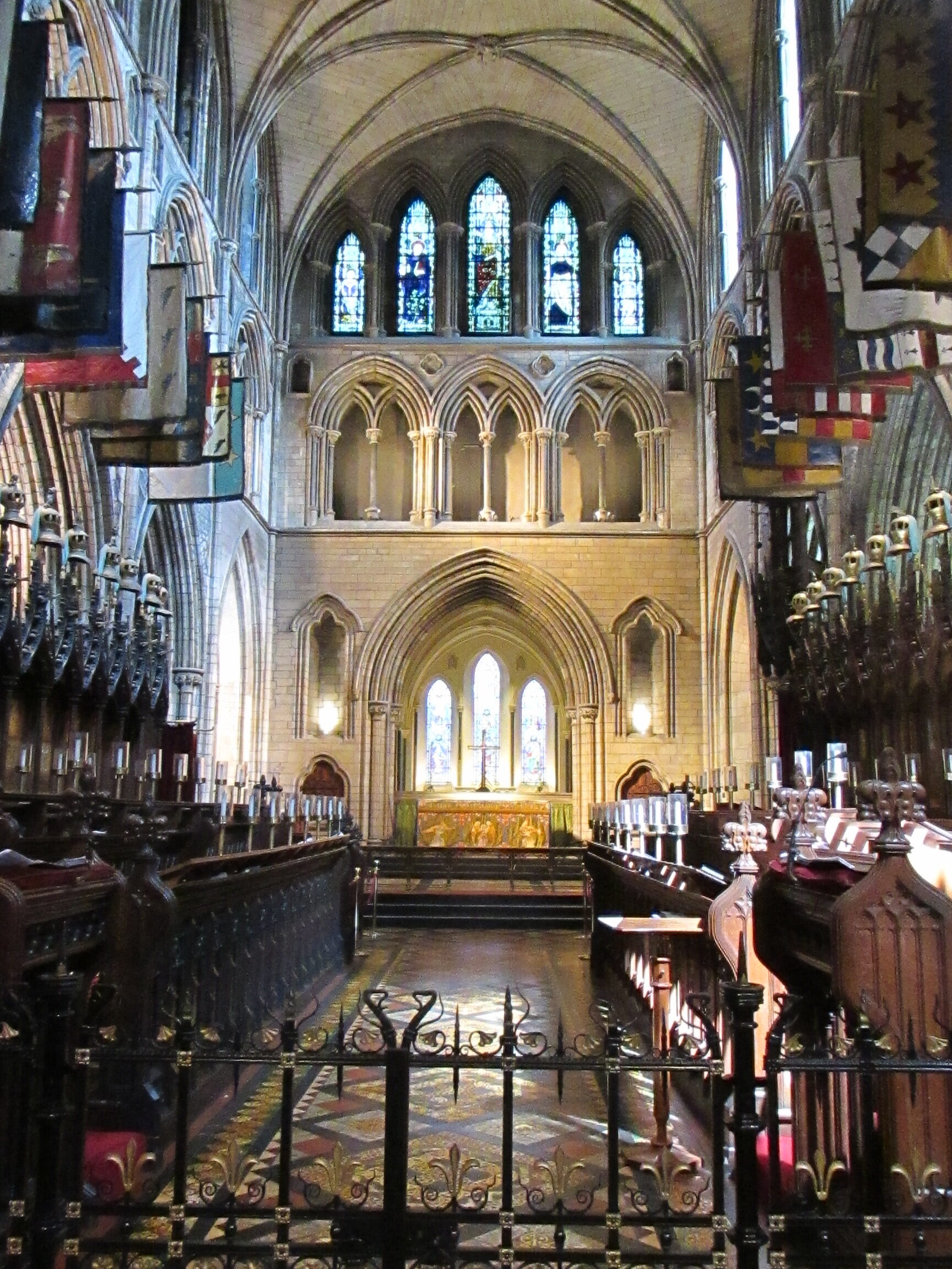 Chancel at St. Patrick's Cathedral, Dublin