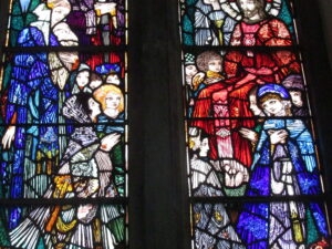 Harry Clarke window in St. Joseph Convent Chapel, Dingle