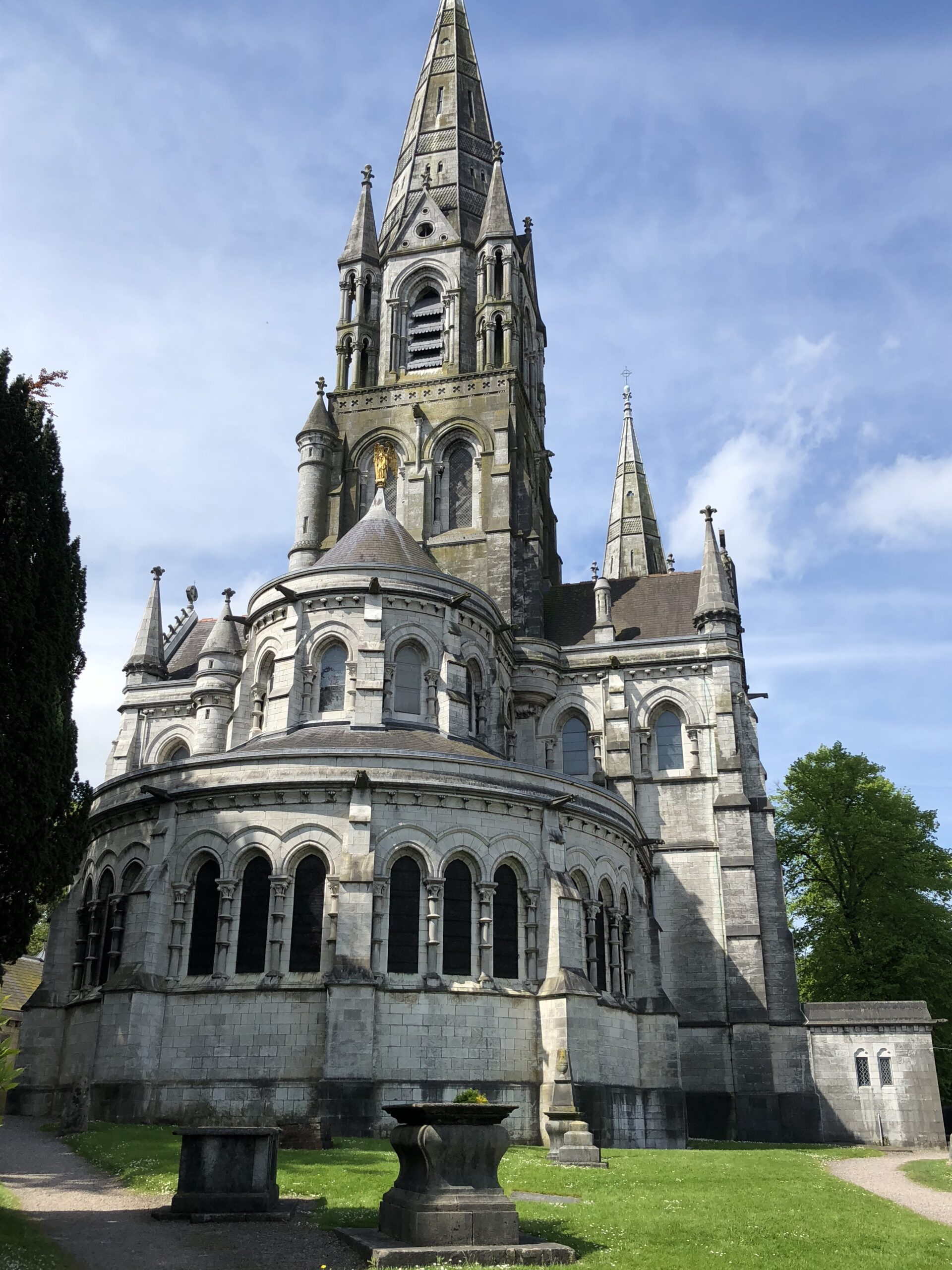 East facade of Saint Fin Barre's Cathedral, Cork