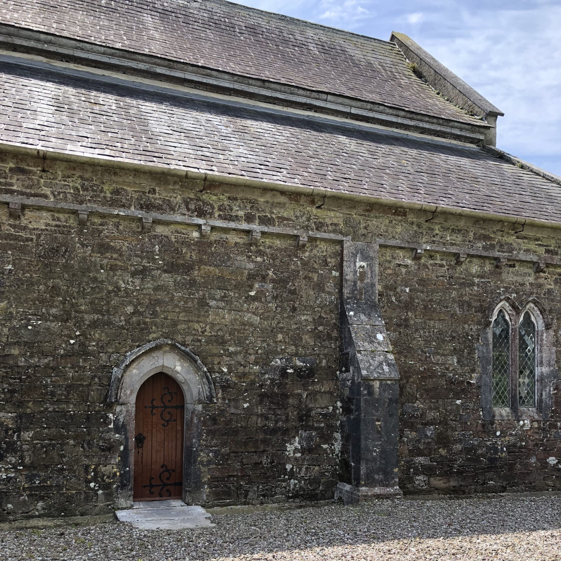 North side of St. Colman's Cathedral, Cloyne