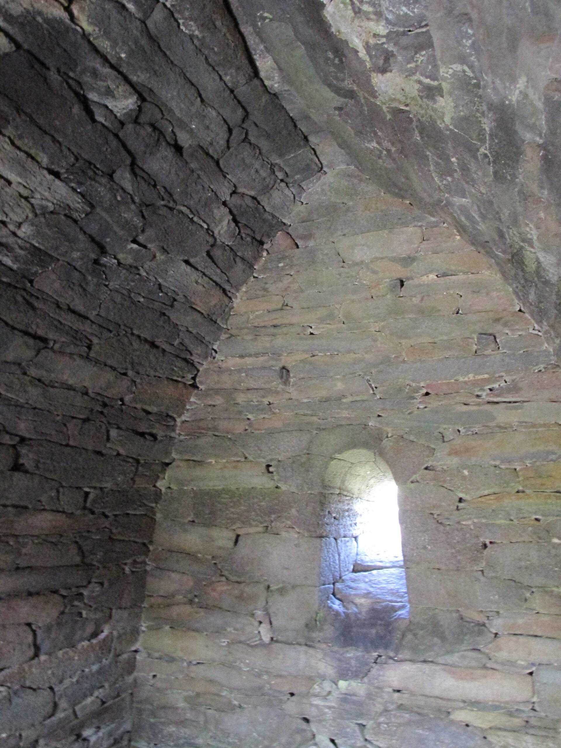 East window of Gallarus Oratory, Dingle Peninsula