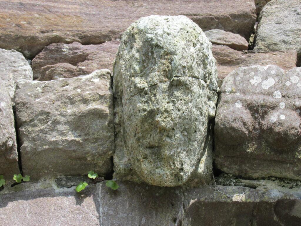 Keystone of entry doorway to Kilmalkedar Church, Kerry