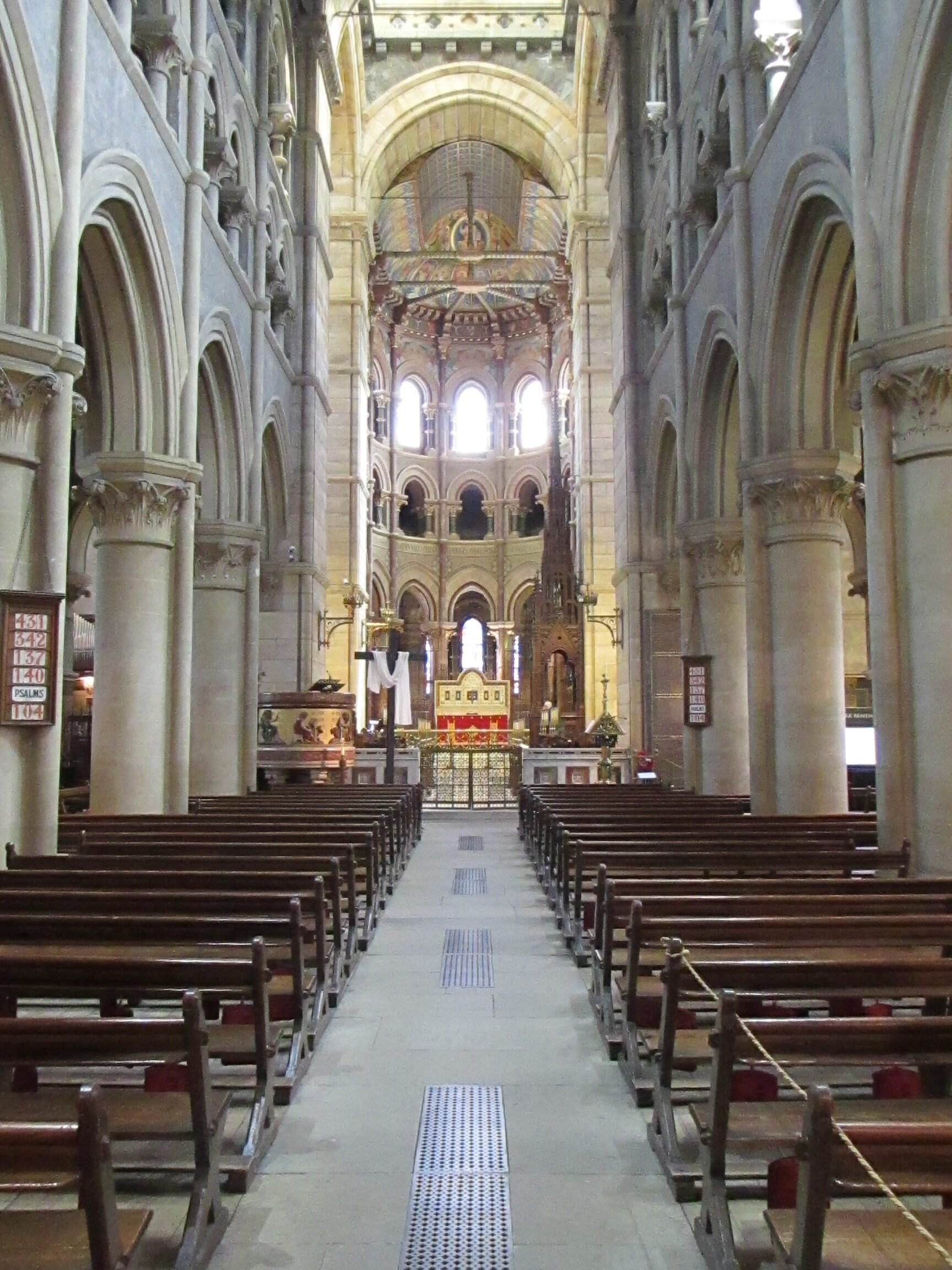 The nave of Saint Fin Barre's Cathedral, Cork