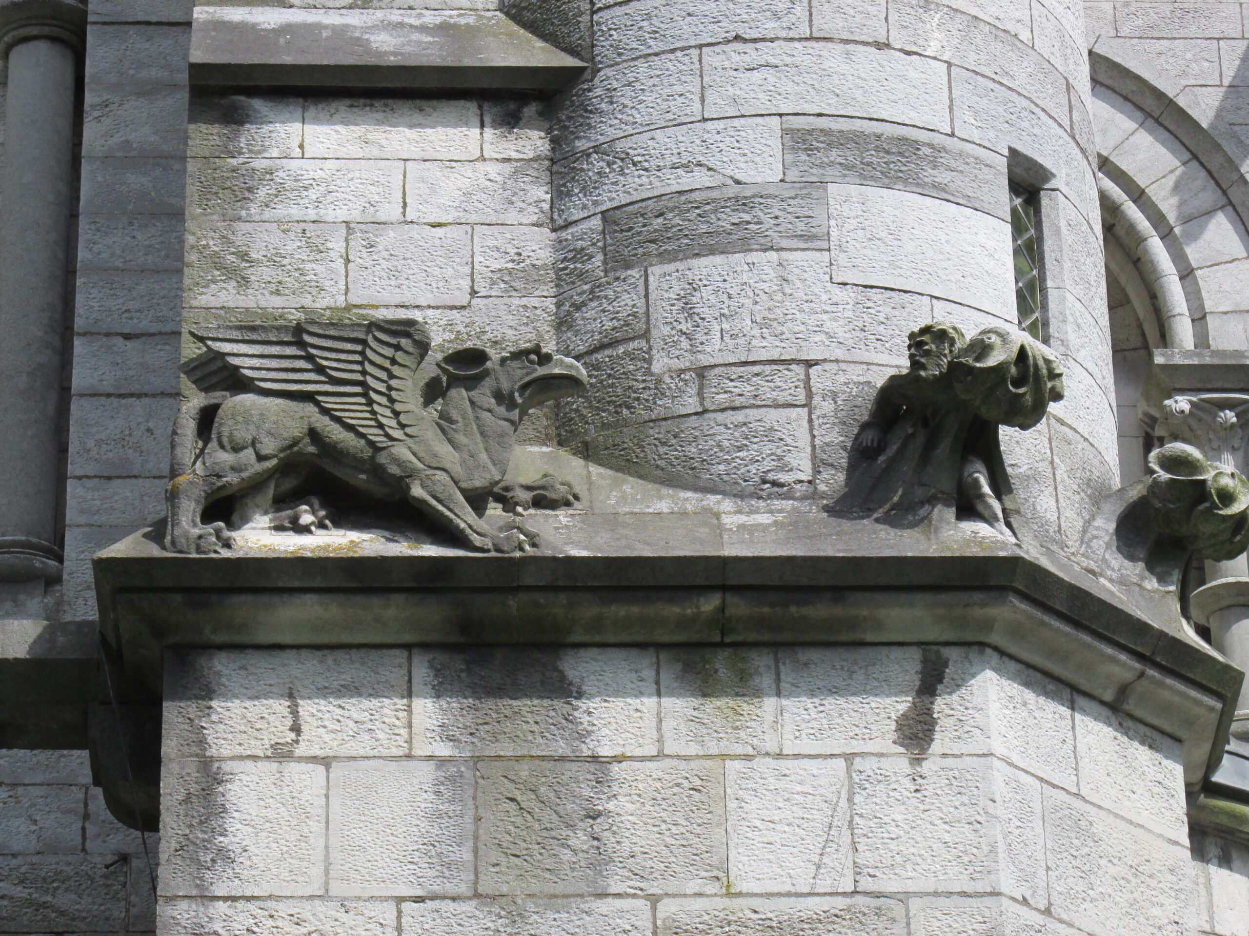 Detail from Saint Fin Barre's Cathedral, Cork