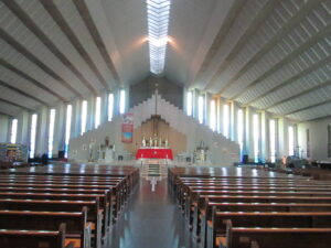 Interior of Church of Christ the King, Cork