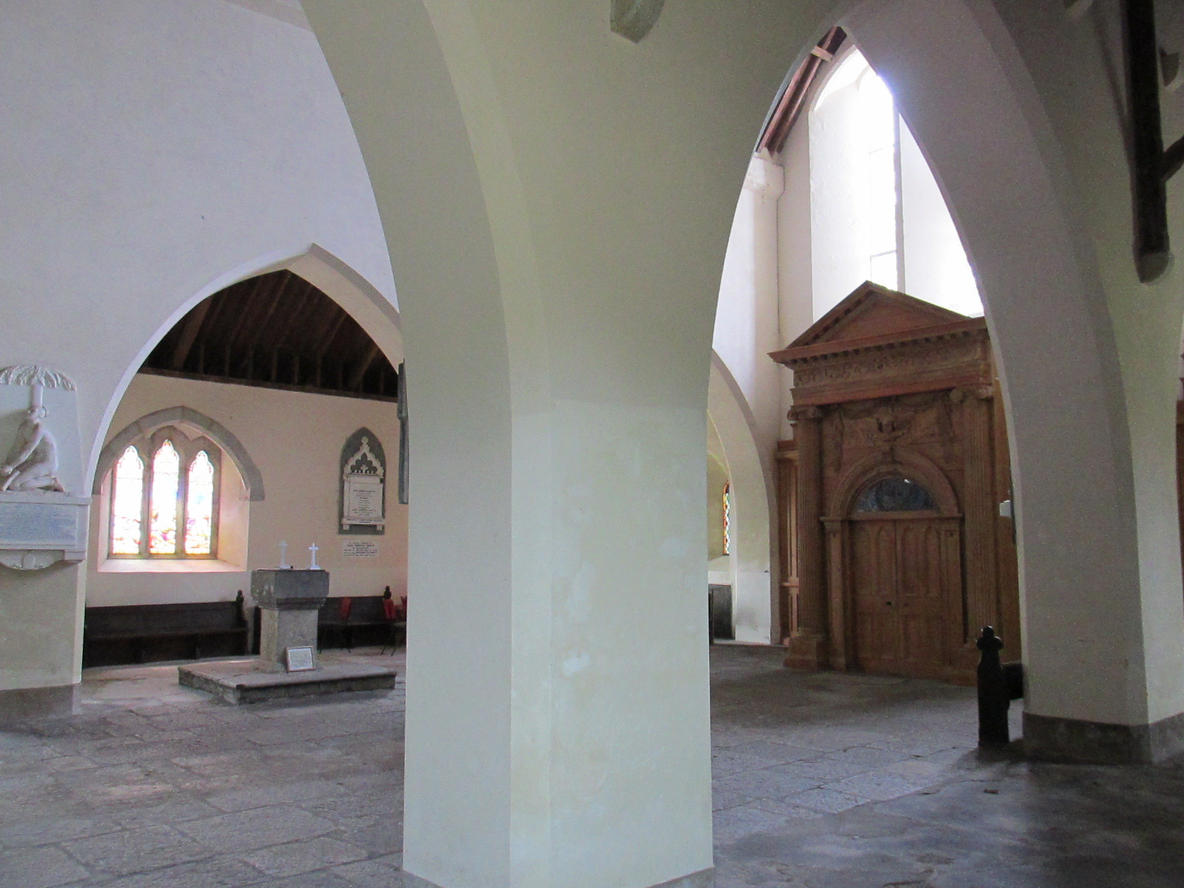 Nave of St. Colman Cathedral, Cloyne