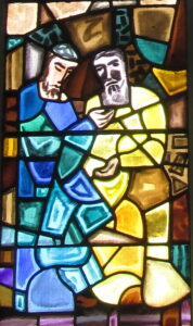 St. Colman with St. Fin Barre