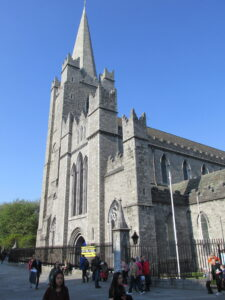 West facade of St. Patrick's Cathedral, Dublin